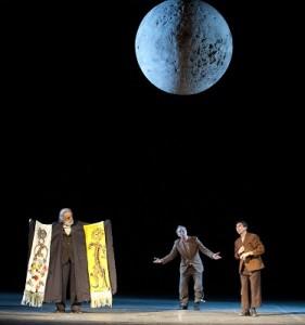 """Mimmo Cuticchio Gino Carista e Melino Imparato in """"Lucio"""" al Teatro Biondo di Palermo"""
