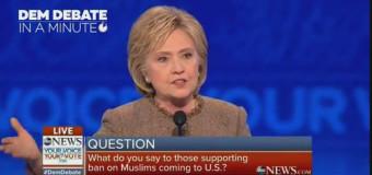"""Hillary Clinton: """"Trump è il miglior reclutatore dell'Isis"""""""