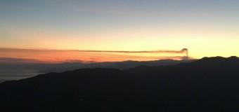 Adesso è cenere dall'Etna. Foto eruzione anche dalla provincia di Palermo