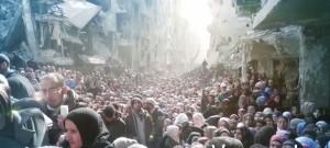 Folla rigugiati in Siria snapshot_2