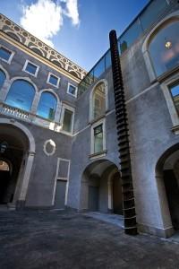 Fondazione Puglisi Cosentino, installazione Jannis Kounellis, LGT