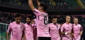 Palermo – Frosinone 4 – 1, i gol dalla Curva Sud