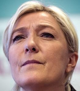 Marine Le Pen. Foto tratta da www.slate.com