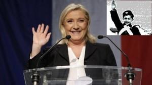 Marine Le Pen saluto fascista 2