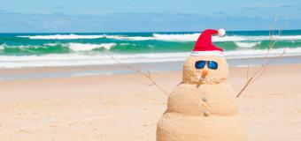 Tintarella di Natale. Si prevedono vacanze in spiaggia