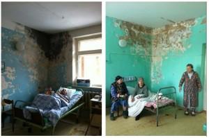 Un ospedale in Russia. Il civico di Palermo in confronto è Svizzera.