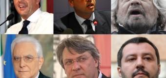 Sondaggi leader. Renzi e Alfano su, Grillo giù