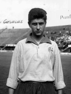 Gianni Rivera con la maglia dell'Alessandria.