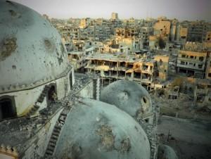Siria citta distrutta