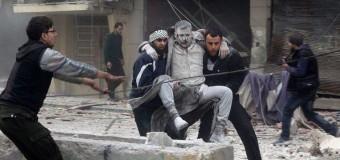 I russi bombardano una scuola in Siria, video e foto. In Italia silenzio assoluto