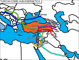 Turchia come hub energetico. Immagine tratta da www.altd.it