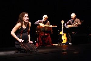 """Elena Borgognoni e i Fratelli Mancuso in """"Verso Medea"""" di Emma Dante al Teatrro Biondo di Palermo"""