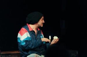 """Graziano Piazza in """"Dreck"""" al Teatro Alla Guilla, Palermo"""