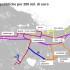 Nuove linee tram mappa