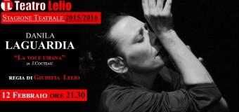 """""""La voce umana"""" di Cocteau al Teatro Lelio di Palermo"""
