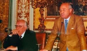 Andrea Camilleri e Pasquale Hamel