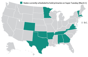 Super Tuesday Primary 2016