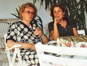 Tina Anselmi e Anna Vinci