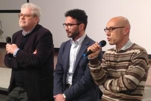 Roberto Andò, Leandro Picarella e Alessandro Rais. Foto di Gabriele Bonafede