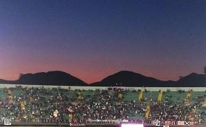 Curva nord stadio Barbera. Foto di Gabriele Bonafede