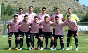 Una formazione del Palermo primavera 2016. Foto tratta dal sito ufficiale della US Città di Palermo