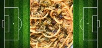 Il calcio-poltiglia e la pasta con le sarde