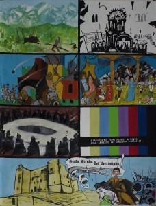 Cartellone realizzato dai Saccardi - ArenaSalvaggio