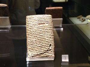 Tavoletta al Museum of Anatolian Civilizations, Ankara, Turchia. Foto di Gabriele Bonafede