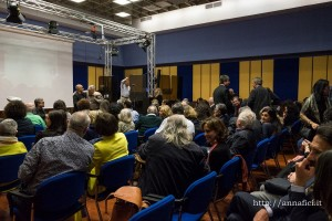 Il pubblico all'Auditorio Rai di Palermo