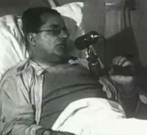 Palmiro Togliatti in ospedale parla agli italiani dopo essersi ripreso dall'attentato