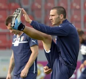 Bonucci, dai più considerato il migliore in campo nella partita di Sant'Antonio 2016