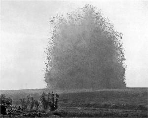 Cento anni fa le esplosioni della prima guerra mondiale sulla Somme. Oggi l'esplosione della Brexit