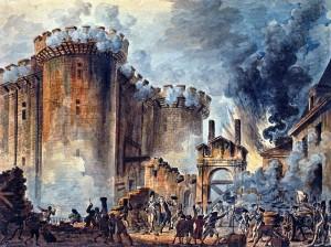 Presa della Bastiglia il 14 luglio 1789
