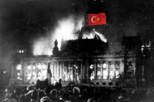 Reichstag-bandiera Turchia