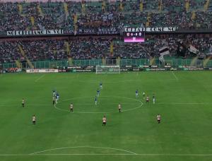 Palermo - Juventus del 24 settembre 2016: il calcio d'inizio