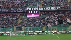 Il Palermo fa soffrire la Juventus davanti a un pubblico ritrovato: oltre 27 000 spettatori