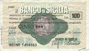 Il Banco di Sicilia batteva moneta...