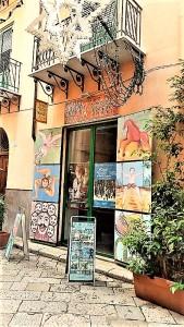 Teatro Cuticchio a Palermo, in via Bara all'Olivella. Foto di Giusi Andolina