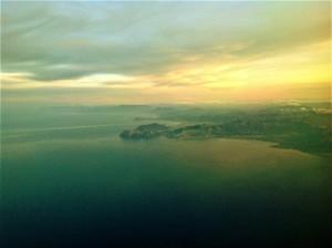 Il mare e la costa Marsiglia, foto di Gabriele Bonafede