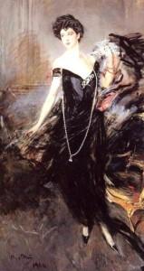 Donna Franca Florio nel celebre ritratto di Giovanni Boldini