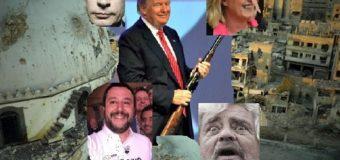 Trump bombarda Assad. Circo TelePutin in stato confusionale