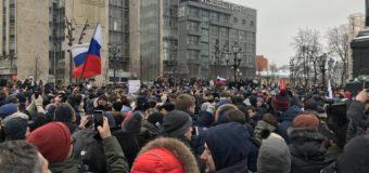 Ancora repressione in Russia. Navalny arrestato