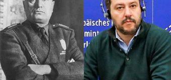 """Salvini """"cattolico anticristiano"""" come Mussolini"""
