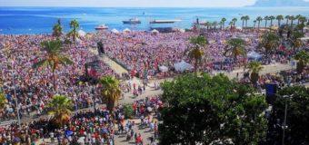 Raccogliete ogni speranza o voi che entrate: Papa Francesco a Palermo