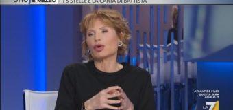 Flop Di Battista in TV. Il M5S vale il dieci per cento