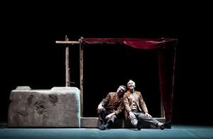 Gino Carista e Melino Imparato in Lucio. Foto di Valerio Bellone