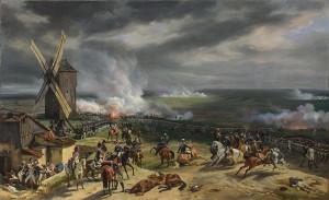 La battaglia di Valmy del 20 settembre 1792, dipinto di Horace Vernet, 1826.
