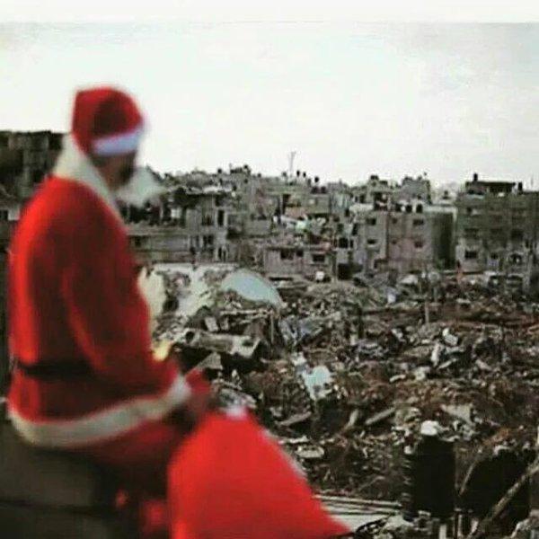 Babbo Natale ad Aleppo