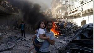 Bombardamento in Siria Natale 2015
