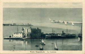 Porto Empedocle negli anni '30 del secolo scorso. Immagine tratta da www.unc.edu